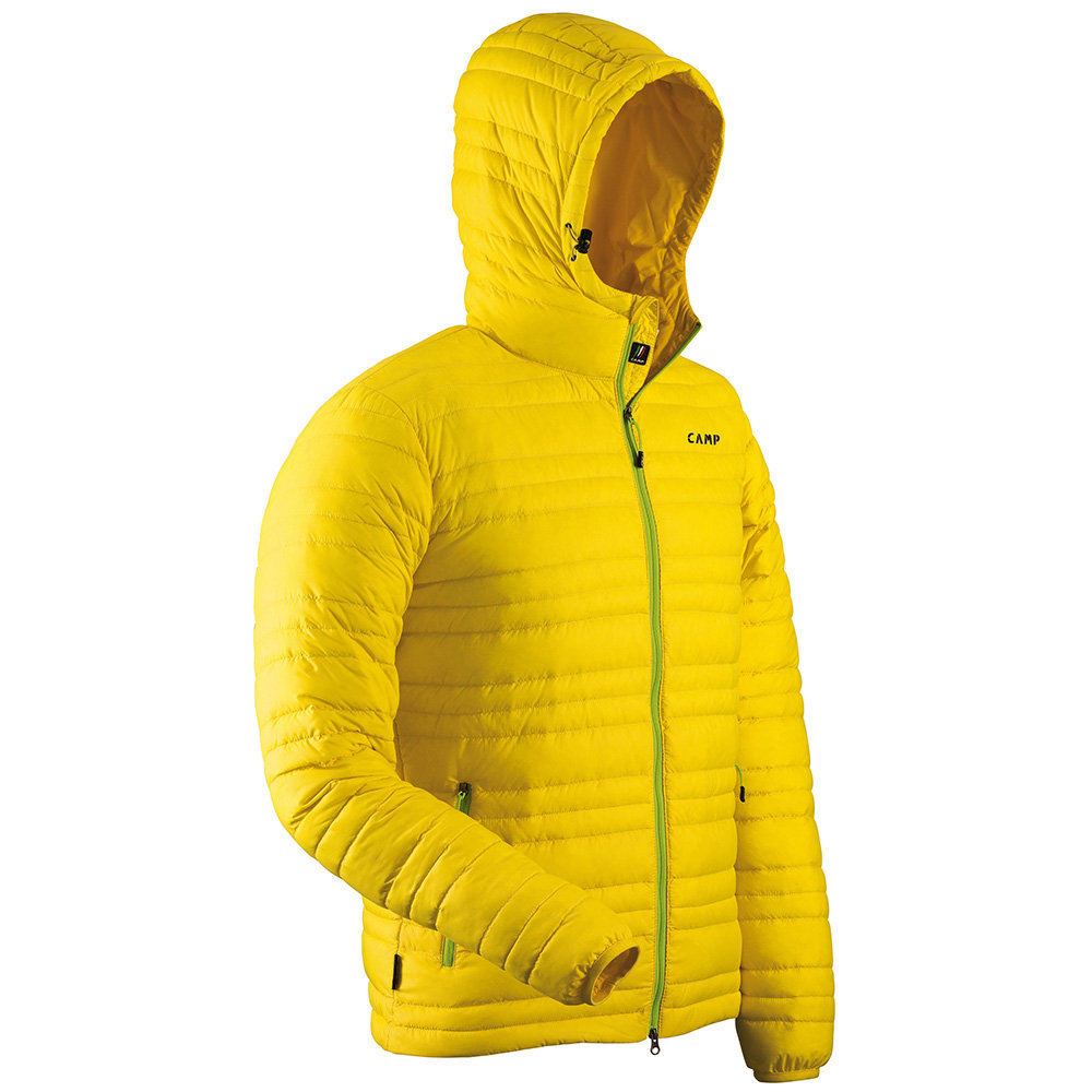 Giacca leggera e compatta, giallo Camp Piumini Uomo Acquista su Ventis.