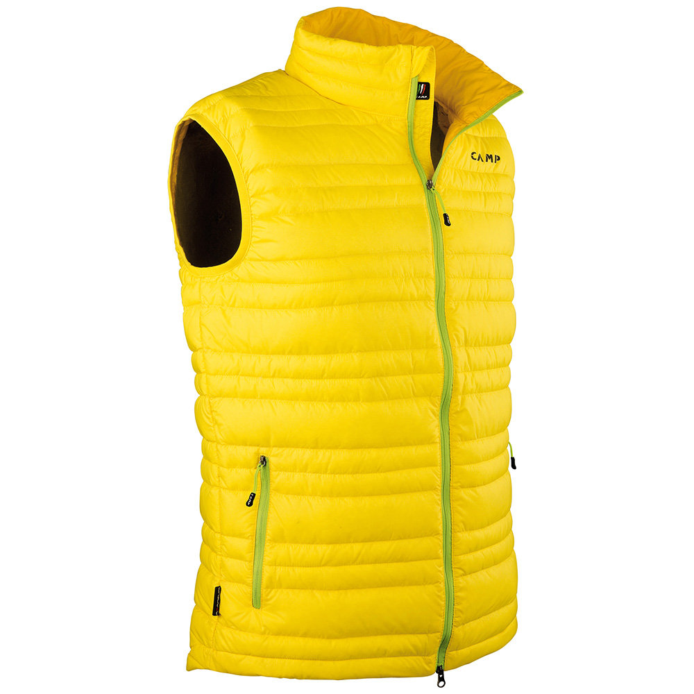 sports shoes 1dbc5 eabb9 Gilet leggero e compatto, giallo - Camp Piumini Uomo - Acquista su Ventis.