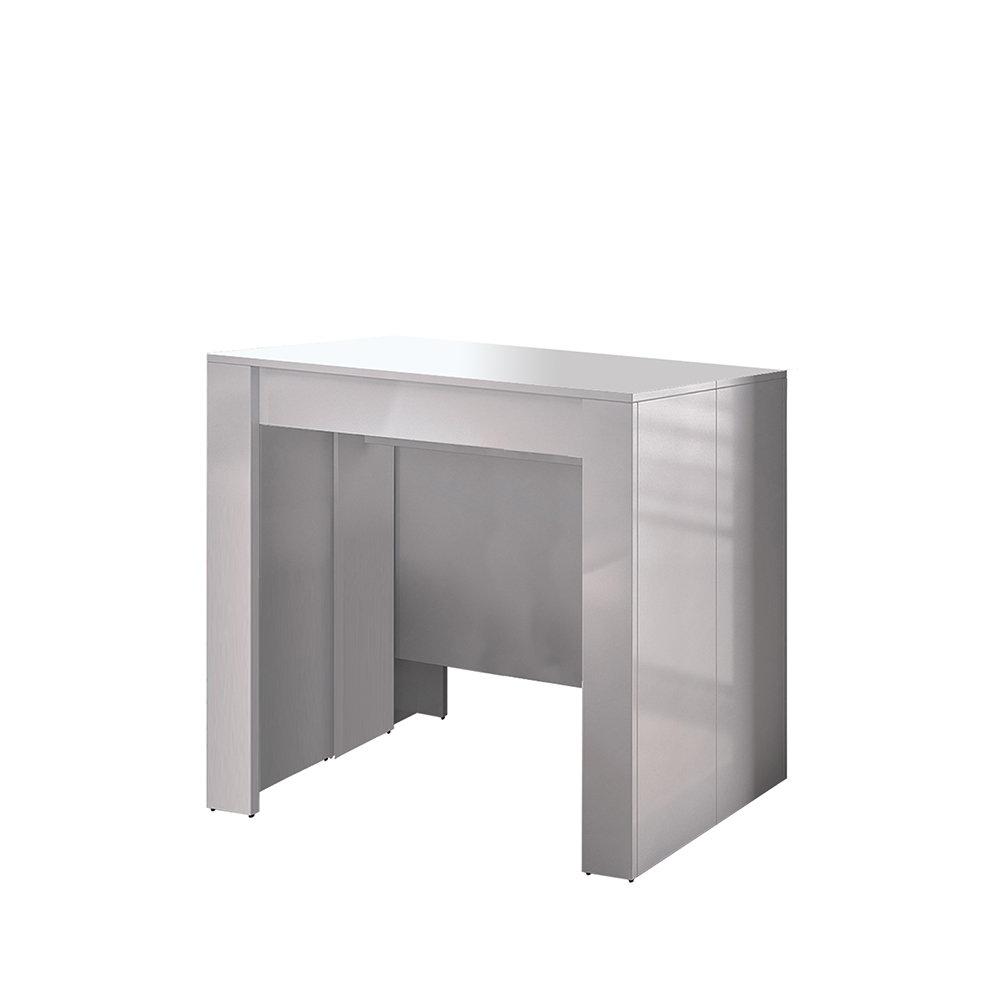 Console tavolo estendibile bianco compact design for Console tavolo