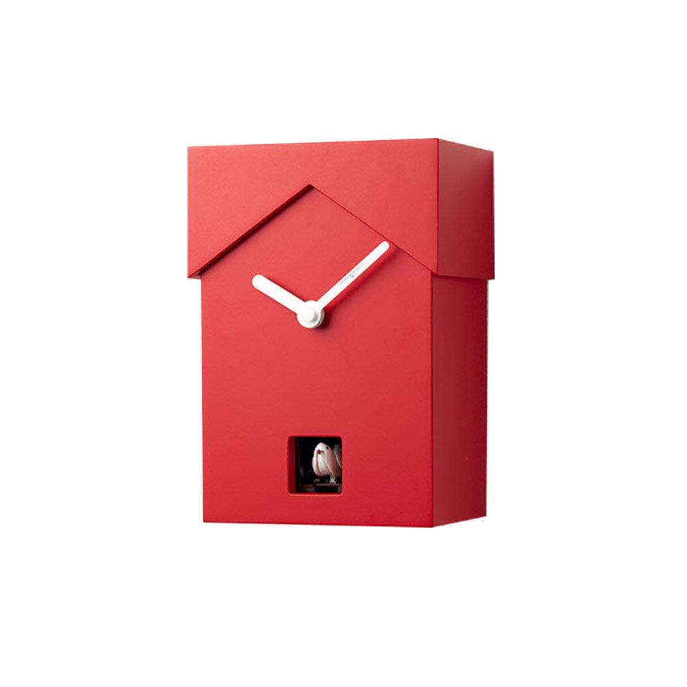 Orologio a cucù da parete CUCUBO, rosso - Diamantini & Domeniconi ...
