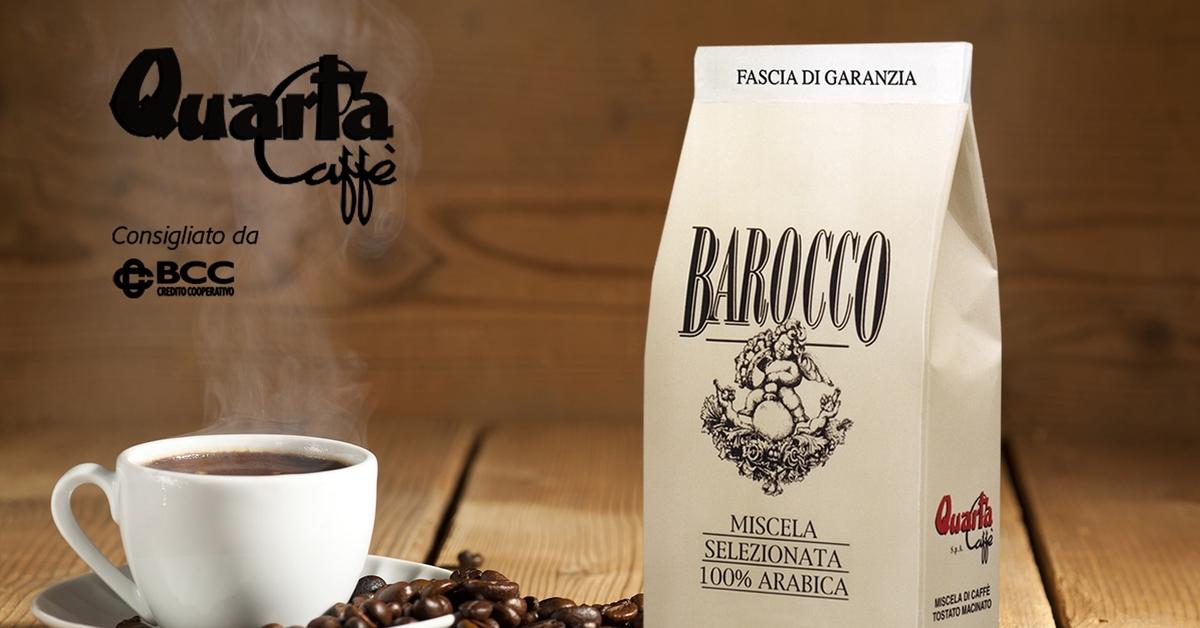 Quarta caff espresso decaffeinato e cialde compatibili - Diversi tipi di caffe ...