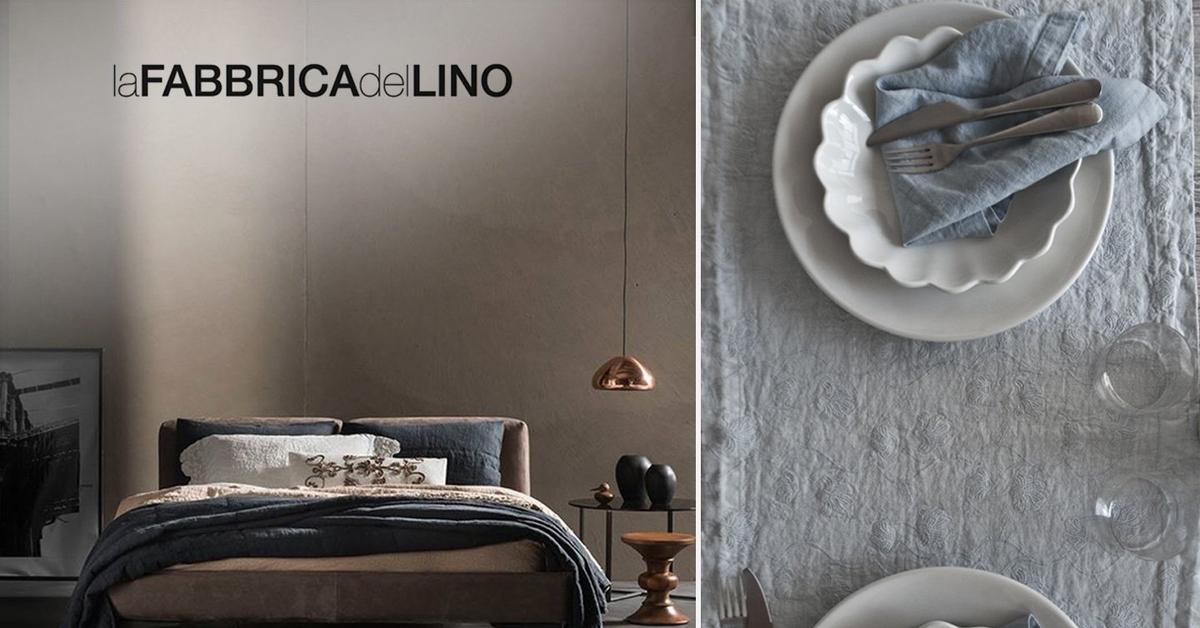 La fabbrica del lino articoli tavola letto e bagno in lino online acquista su ventis - La fabbrica del lino letto ...