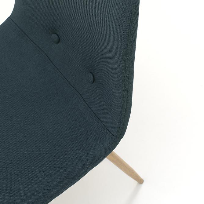 Set 4 sedie DAMASCO, petrolio - Design moderno