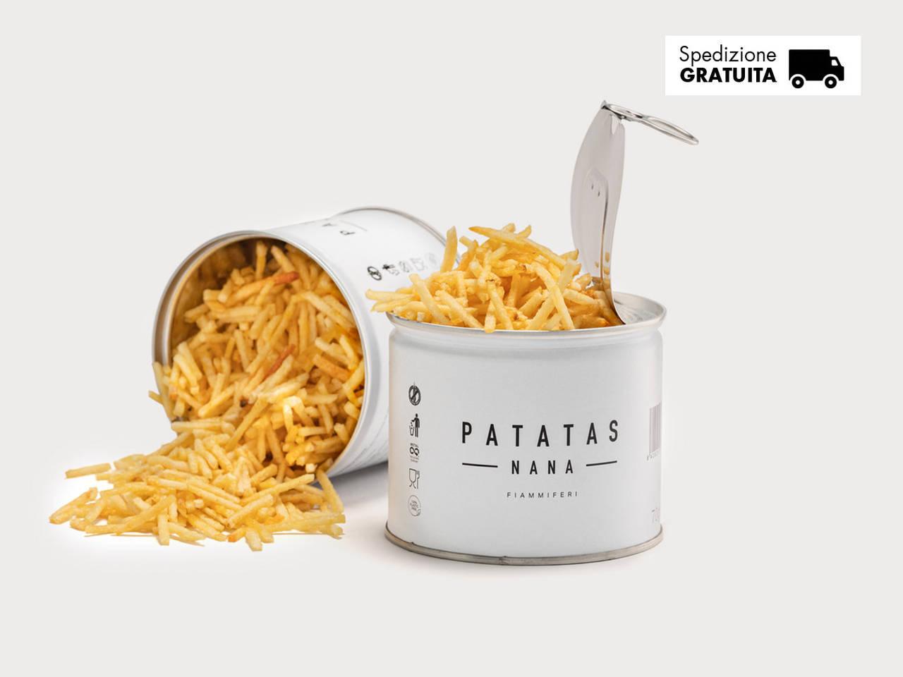 Patatas Nana, patatine gourmet