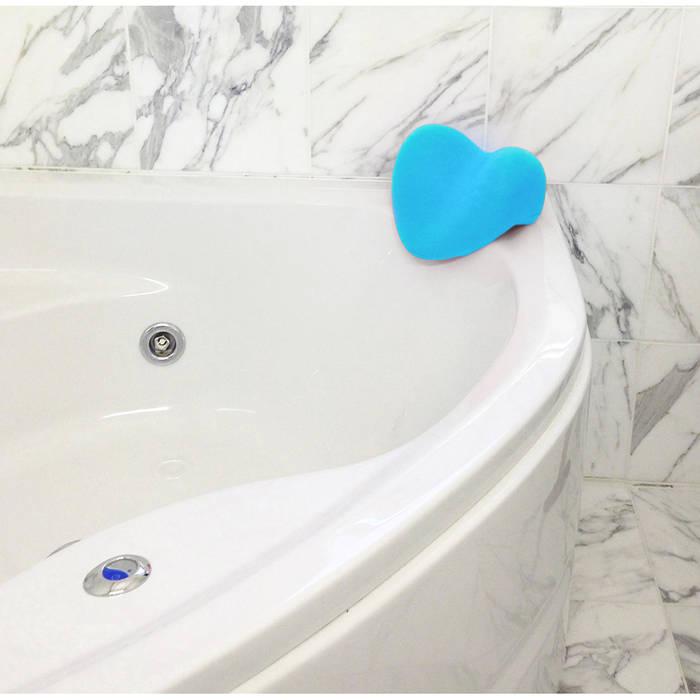 Cuscino poggiatesta RELAX per vasca da bagno, azzurro ...