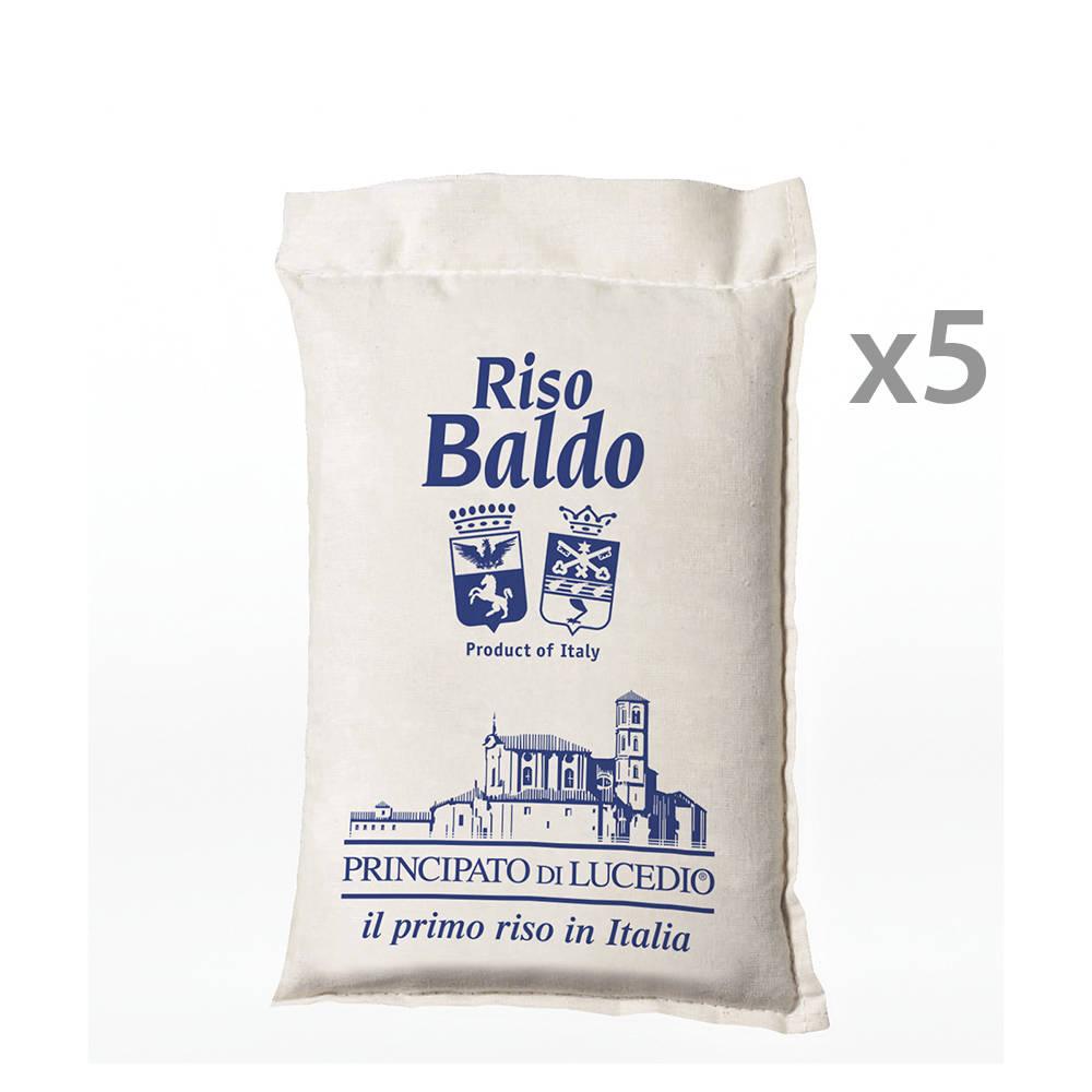 5 confezioni riso baldo 1 kg principato di lucedio for Cuocere 1 kg di riso