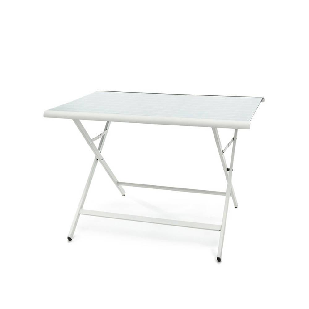 Tavolo pieghevole da esterno positano in alluminio garden selection acquista su ventis - Tavolo pieghevole da esterno ...