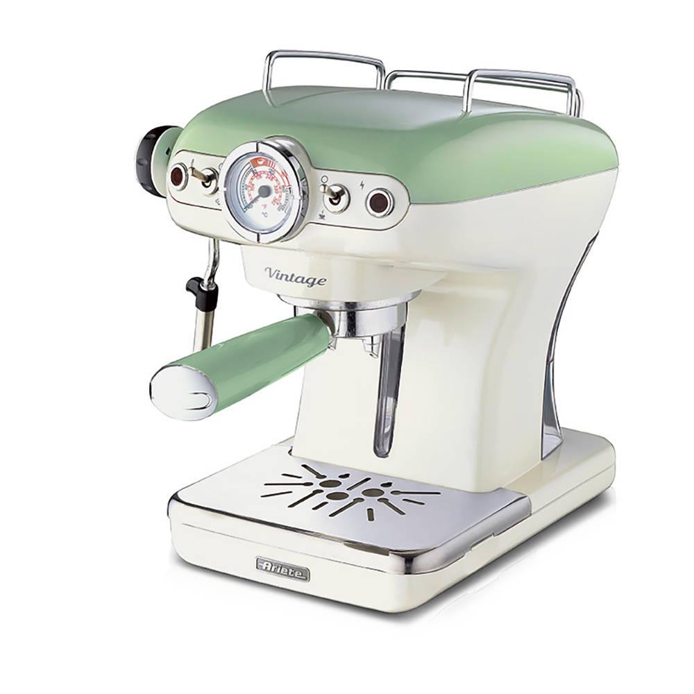 Espresso vintage verde ariete elettrodomestici for Ariete elettrodomestici