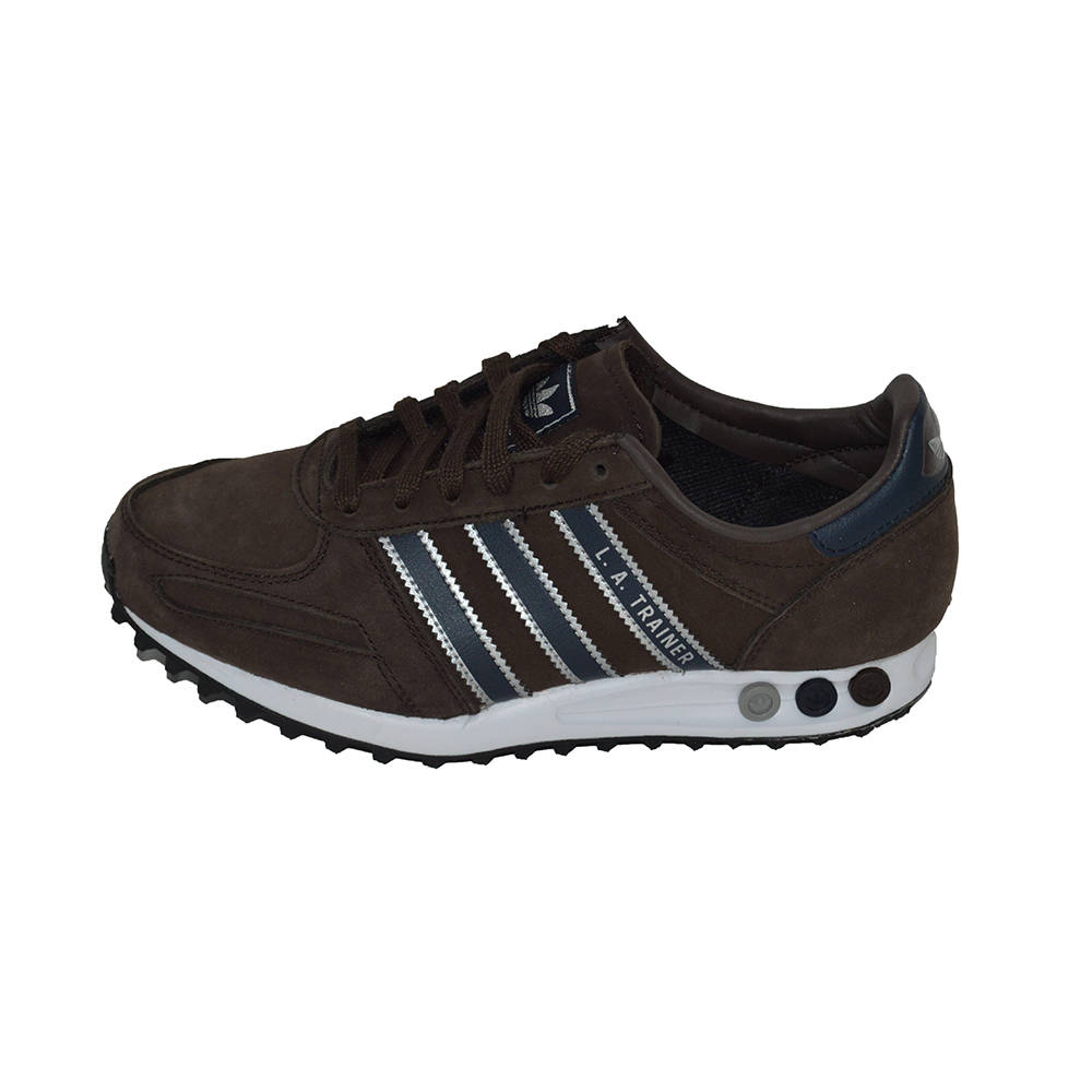 la trainer adidas marroni