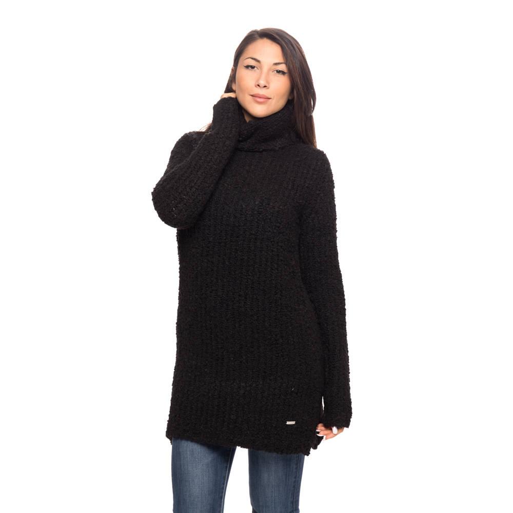 Maglione lungo da donna a collo alto, - REFRIGUE MAGLIE E ...