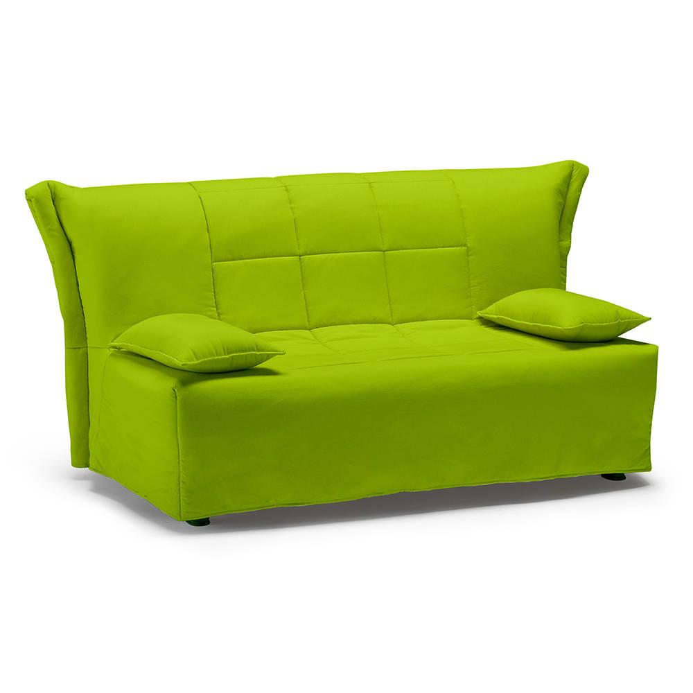 Divano misura francese trasformabile a slitta verde - Divani letto comodissimi ...