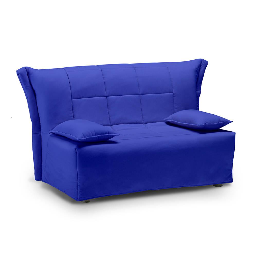 Divano 1 piazza e mezzo trasformabile a slitta top6 blu - Divani letto comodissimi ...