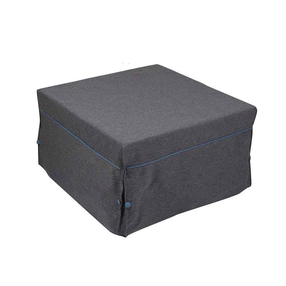 Pouf letto in tessuto grigio evergreen house acquista su ventis - Vendita pouf letto ...