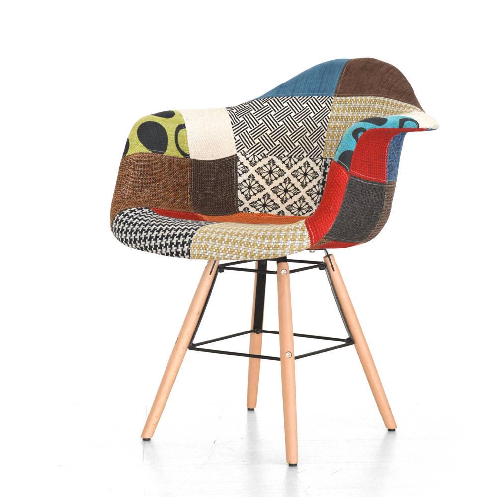 Poltroncina Roma Patchwork - Cribel sedie