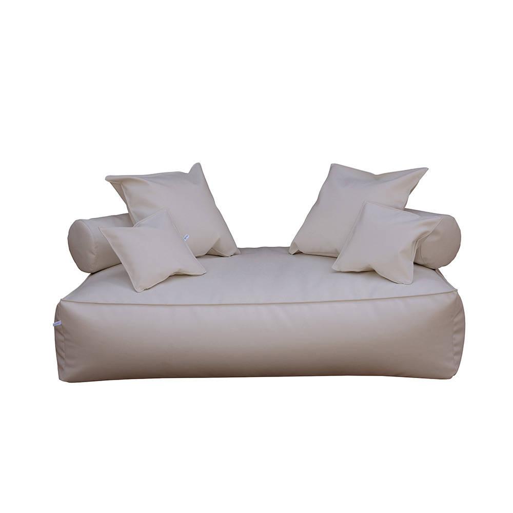 Divano panama in pelle ecologica tortora filippo ghezzani acquista su ventis - Kit riparazione pelle divano ...