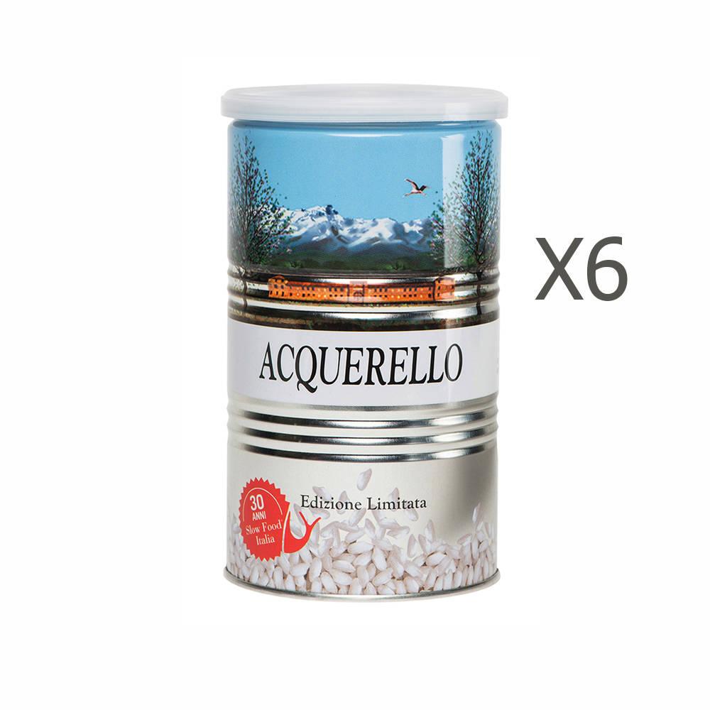 6 lattine di riso carnaroli da 1 kg riso acquerello for Cuocere 1 kg di riso