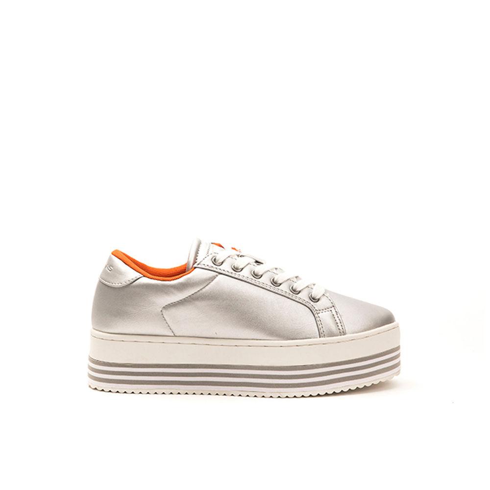 on sale abc27 b4b5c Sneakers da donna con para alta silver - GAS SCARPE - Acquista su Ventis.