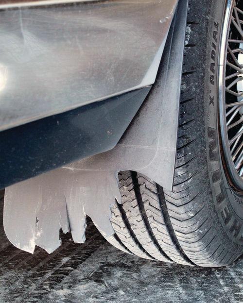 Tire-tossed