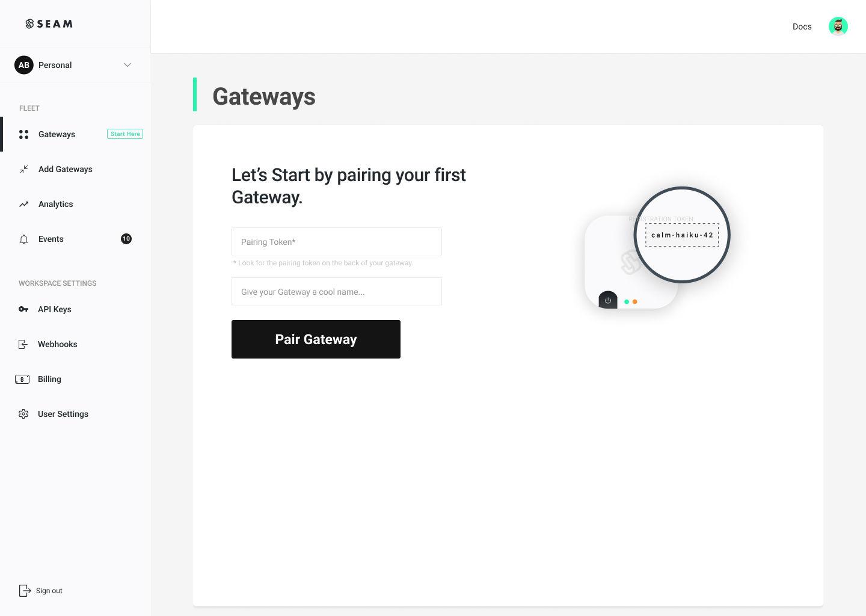 Workspace Location Gateway End Devices Architecture