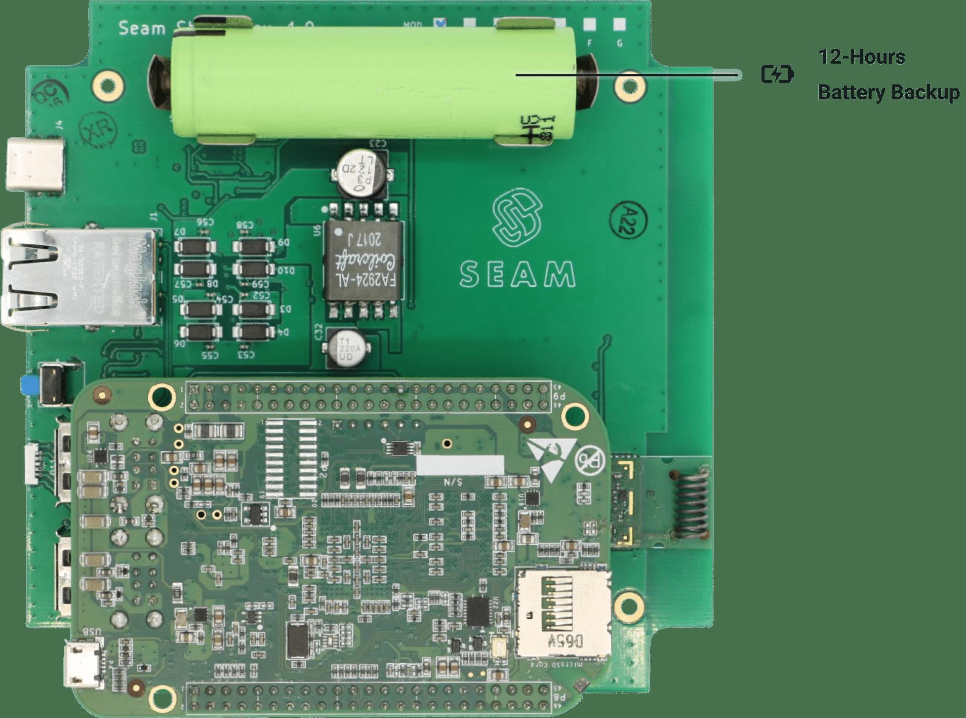 Seam Hub Battery Callout