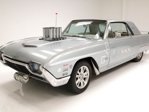 1963 Ford Thunderbird Coupe / faux gasser for sale