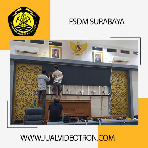 proyek videotron indoor esdm surabaya