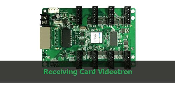 receiving card videotron