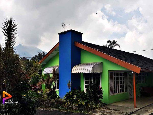 Villa Sawir 3 Kamar Kolam Renang Halaman Luas