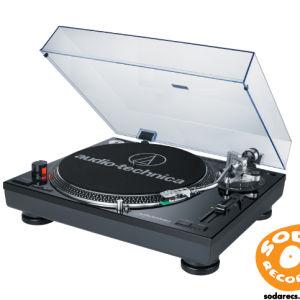 Audio-Technica AT-LP120BK-USB Record Turntable - USB - Black
