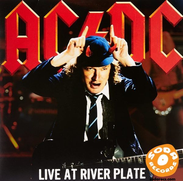 AC/DC - Live At River Plate [Vinyl] [3 LP] [Red Translucent]