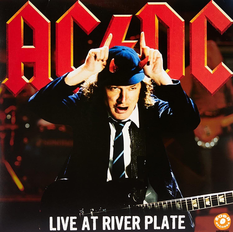 AC/DC - Live At River Plate [Vinyl] [3 LP] [Red Translucent]