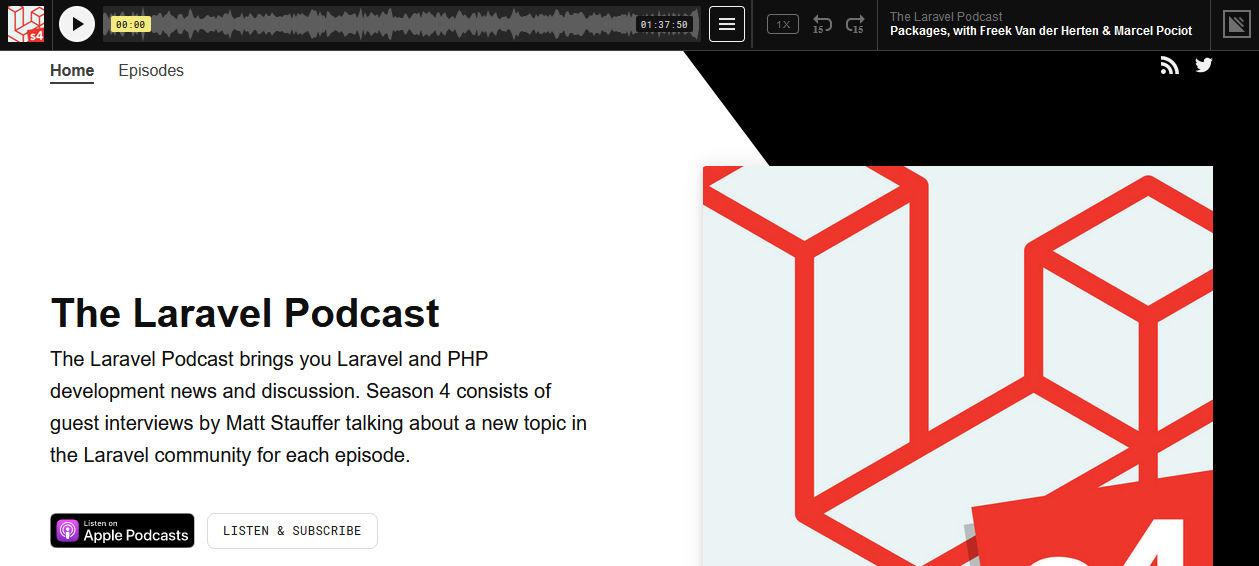 laravel podcast