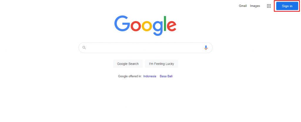 sign in google untuk cara membuat google form