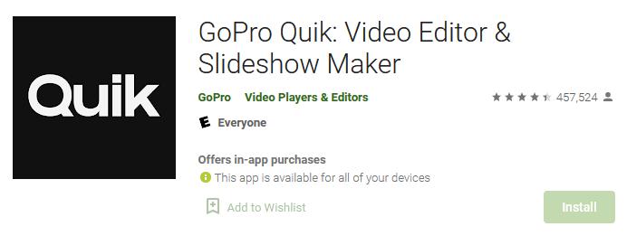 aplikasi edit video quik