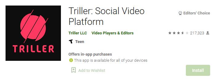 aplikasi triller