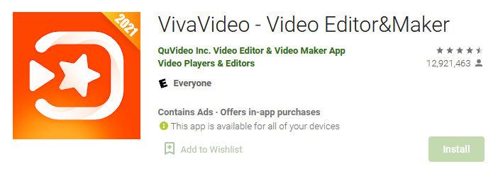 aplikasi vivavideo untuk editing video