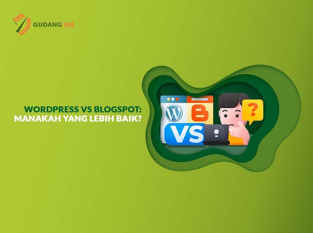 wordpress vs blogspot blogger