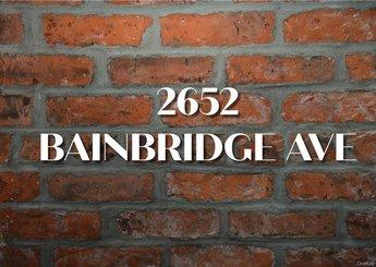 2652 Bainbridge Avenue
