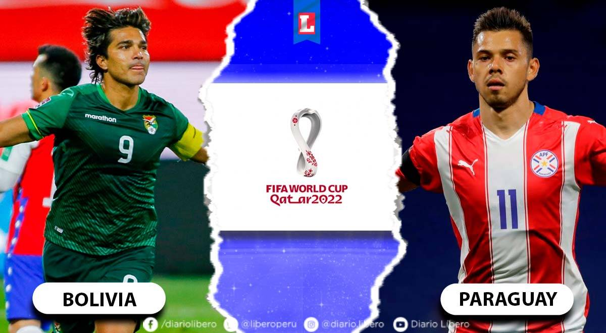 Bolivia vs. Paraguay EN VIVO partido por las Eliminatorias Qatar 2022