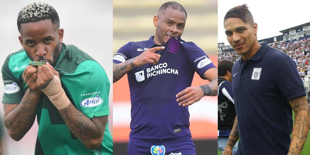 Ataque letal: Aguirre señaló que sería un sueño jugar con Farfán y Guerrero en Alianza