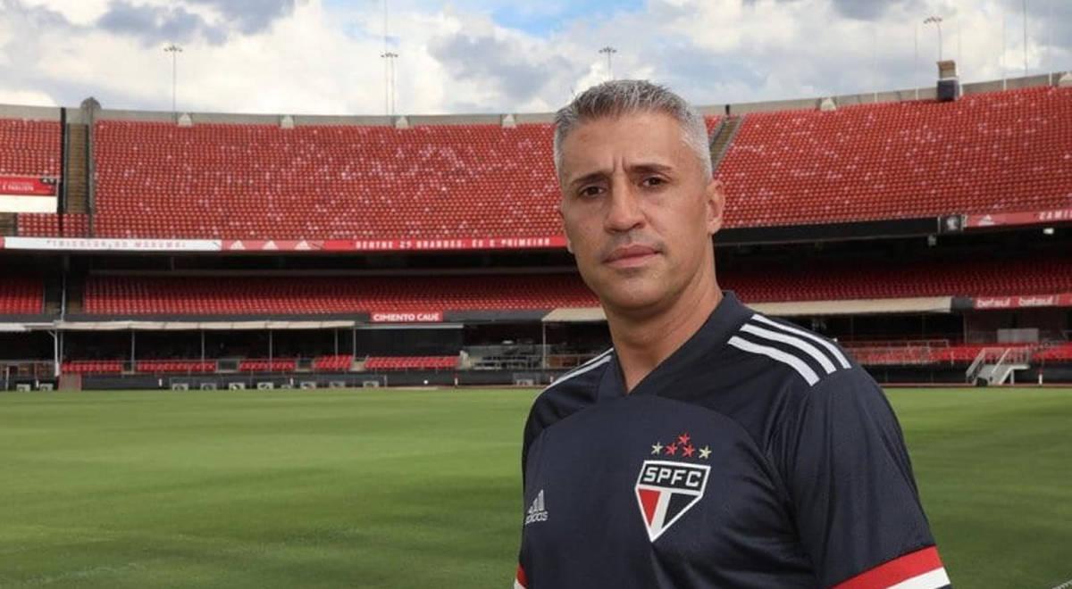 Hernán Crespo no va más como técnico del Sao Paulo