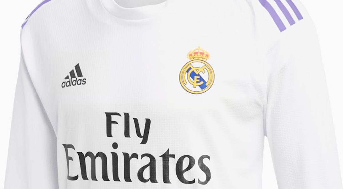 Real Madrid: se filtra diseño de la camiseta para la temporada 2022-2023