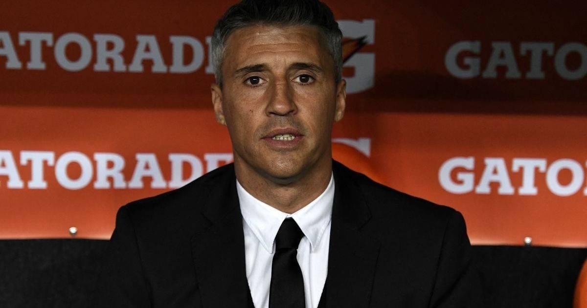Hernán Crespo dejó de ser el entrenador del Sao Paulo por bajo rendimiento