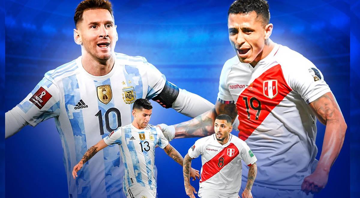 Argentina vs. Perú por Eliminatorias: hora, dónde verlo en vivo y Formaciones TV