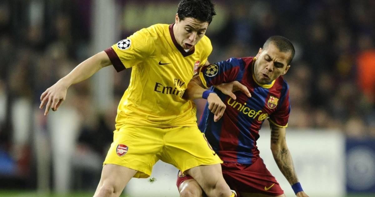Samir Nasri: El drástico cambio físico del exfutbolista francés