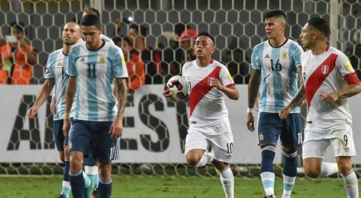 Perú, quien más goles anotó de visita a Argentina en Eliminatoria