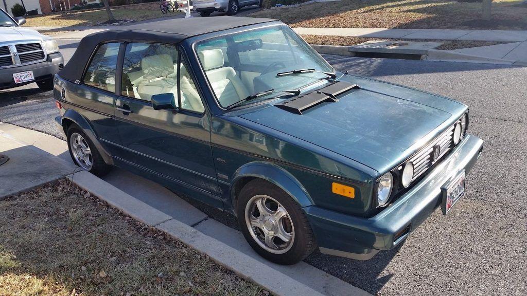 1993 Volkswagen Cabrio – COLLECTORS EDITION