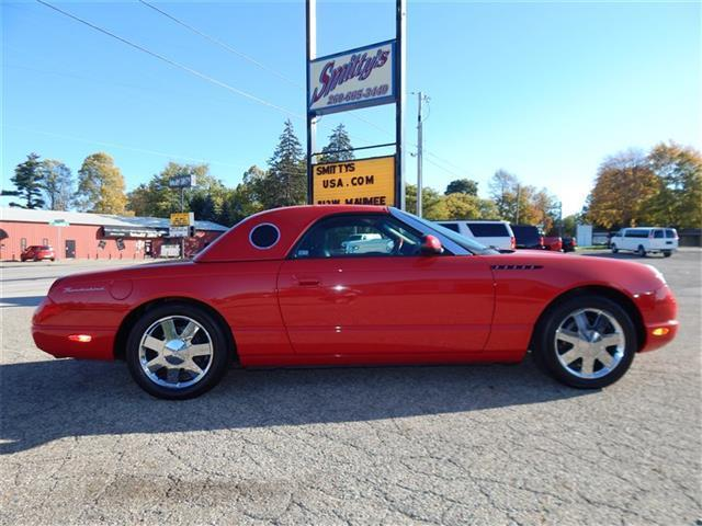 2002 Ford Thunderbird Deluxe – COLLECTOR QUALITY