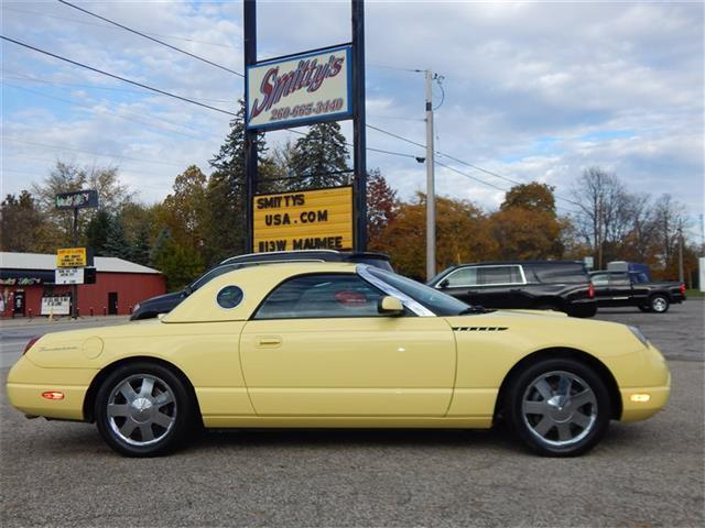 2002 Ford Thunderbird Premium – COLLECTOR QUALITY