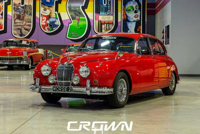 1963 Jaguar Mark II Vintage Classic Collector Performance Muscle